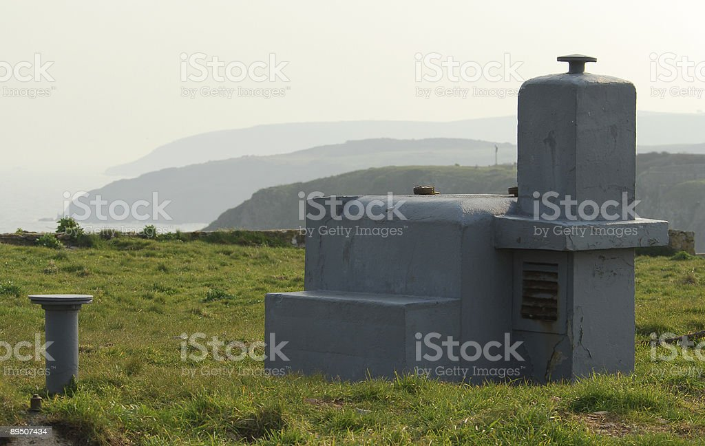 Nuclear Shelter royalty-free stock photo