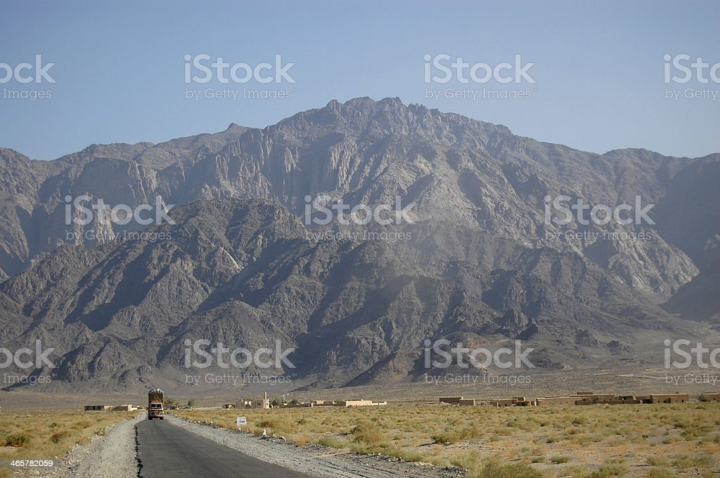 Nuclear tests stock photo