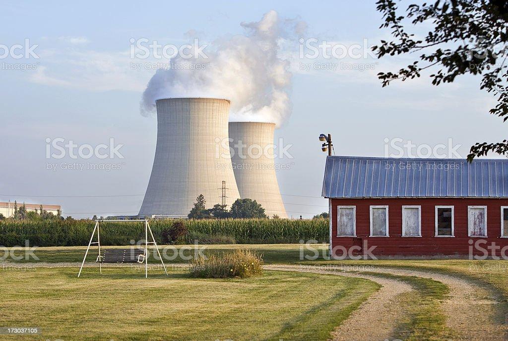 nuclear veiw royalty-free stock photo