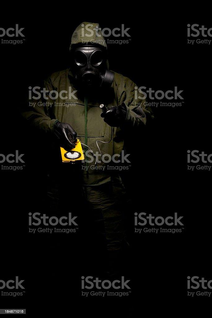 Nuclear Warfare stock photo