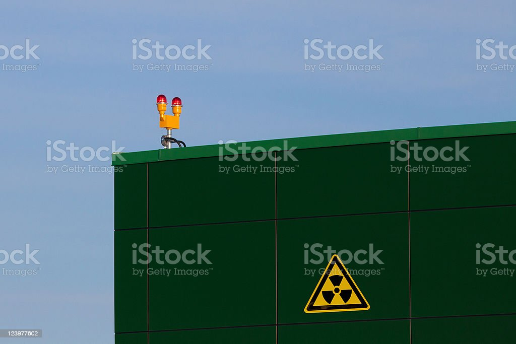 Nuclear Waste Facility royalty-free stock photo