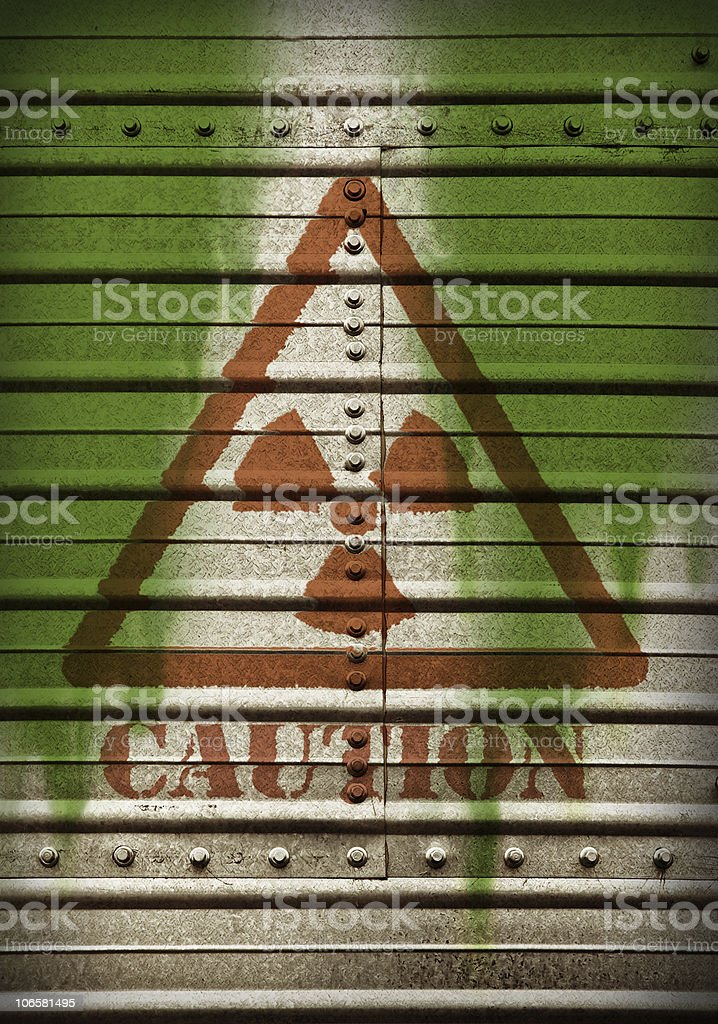 Nuclear waste. royalty-free stock photo