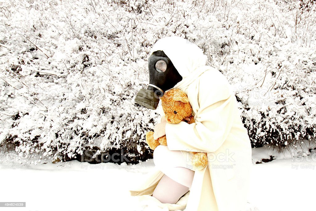 Nuclear Winter royalty-free stock photo