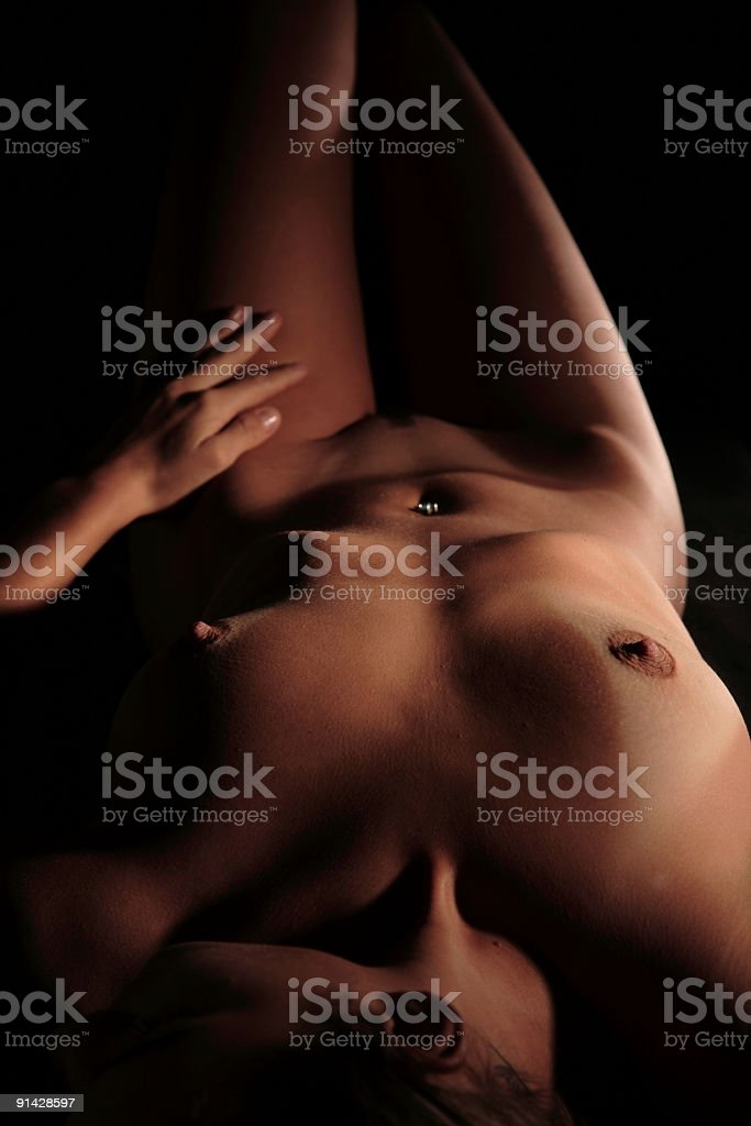 Nude 3 royalty-free stock photo