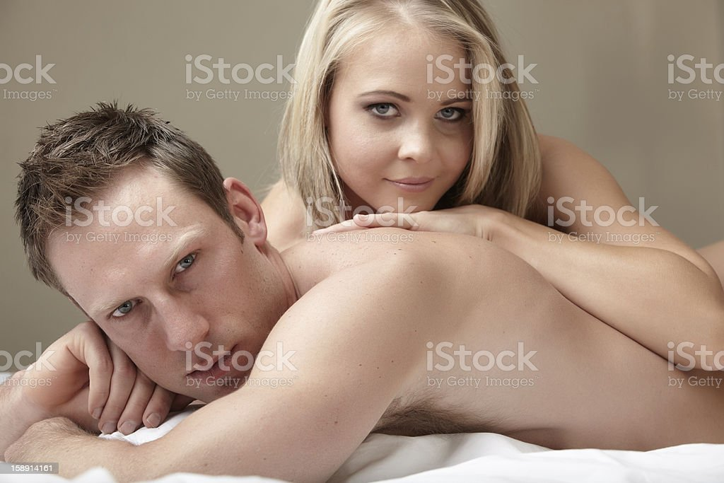 Nude Couple royalty-free stock photo
