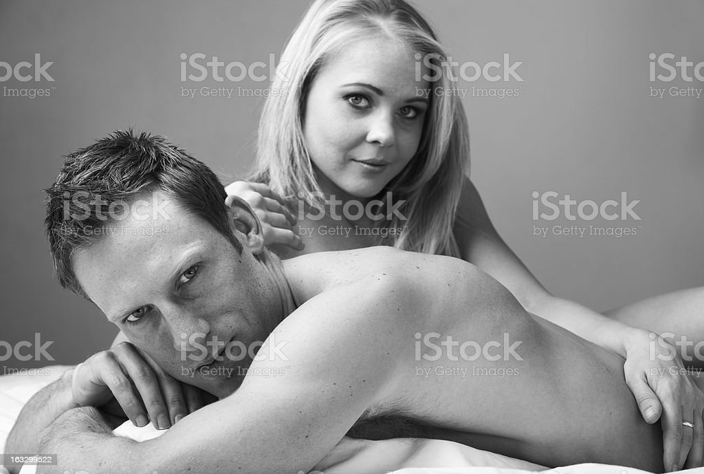 Nude Couple royalty-free stock photo