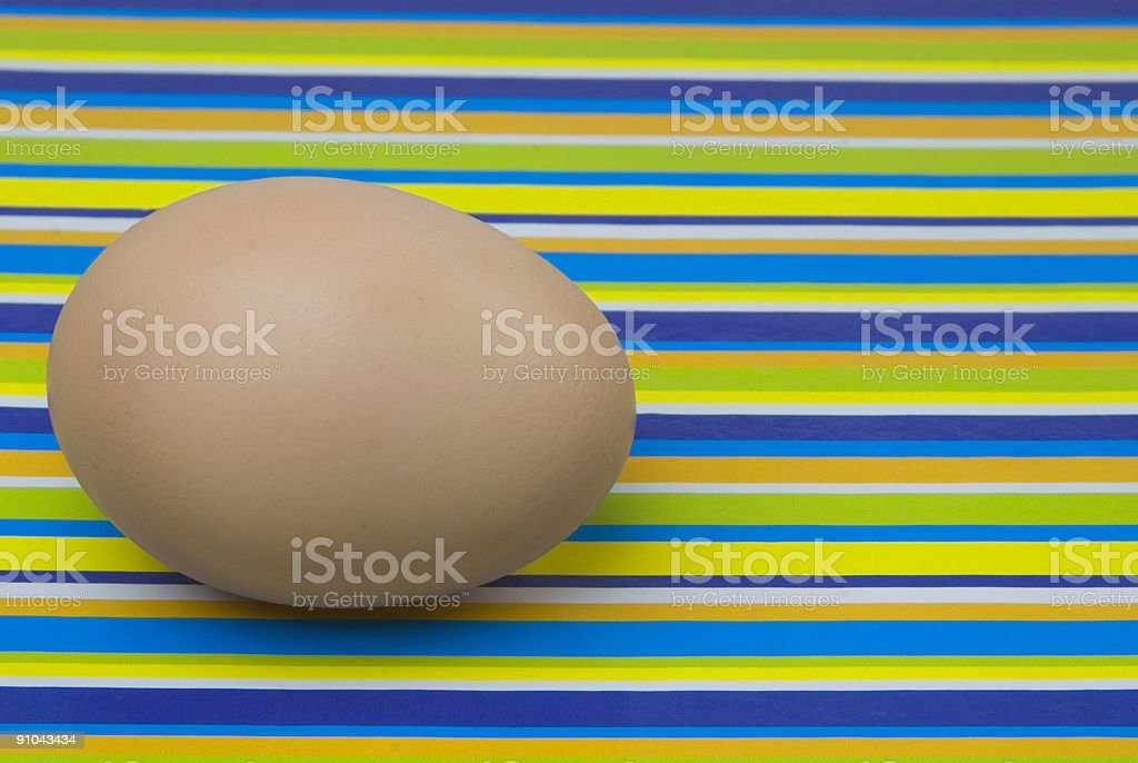 Nude Easter Egg stock photo