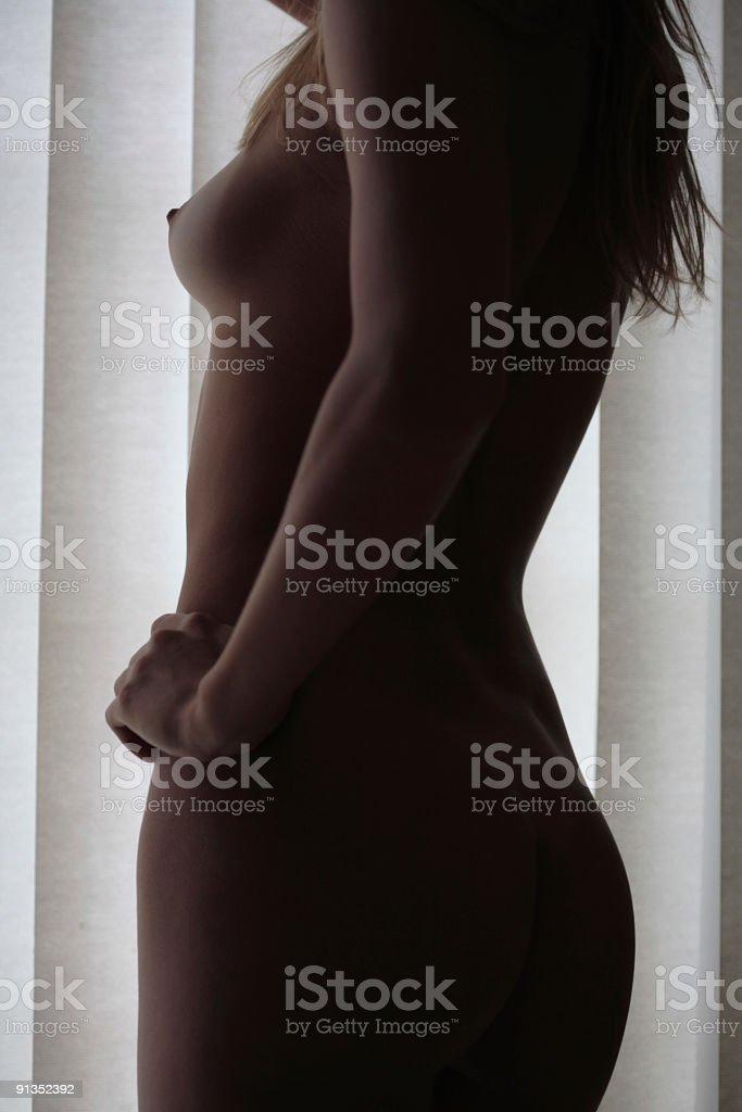 Nude Girl royalty-free stock photo