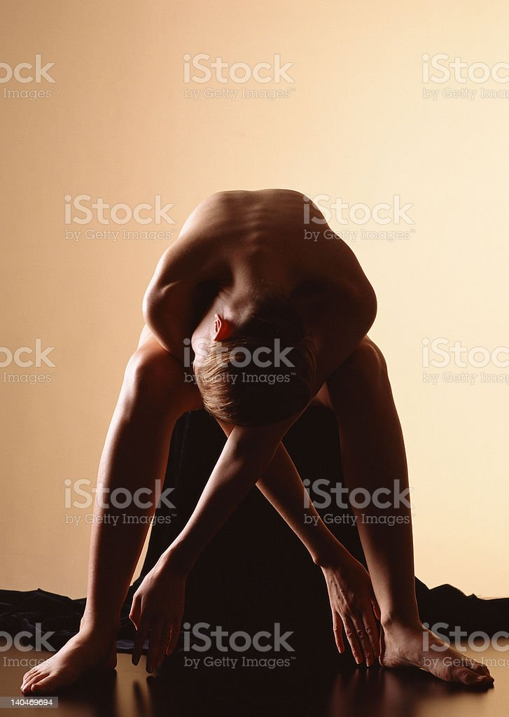 Nude royalty-free stock photo