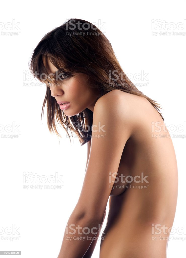 nude woman royalty-free stock photo