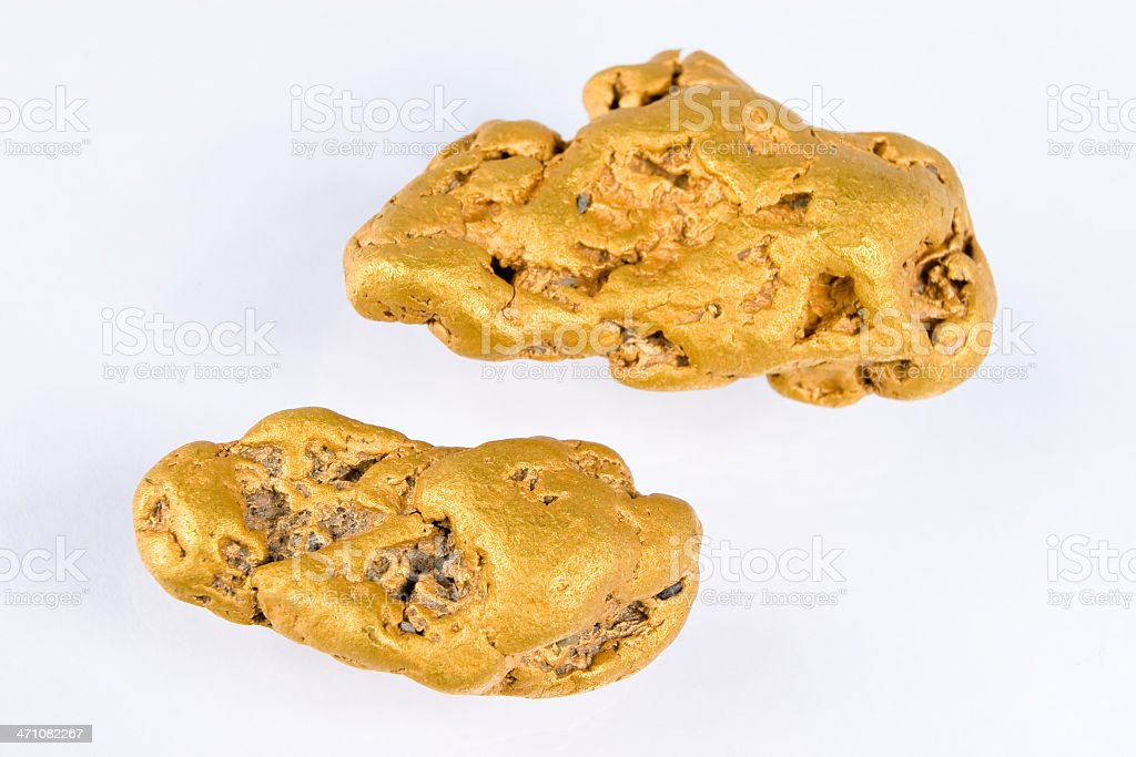 Nugget royalty-free stock photo