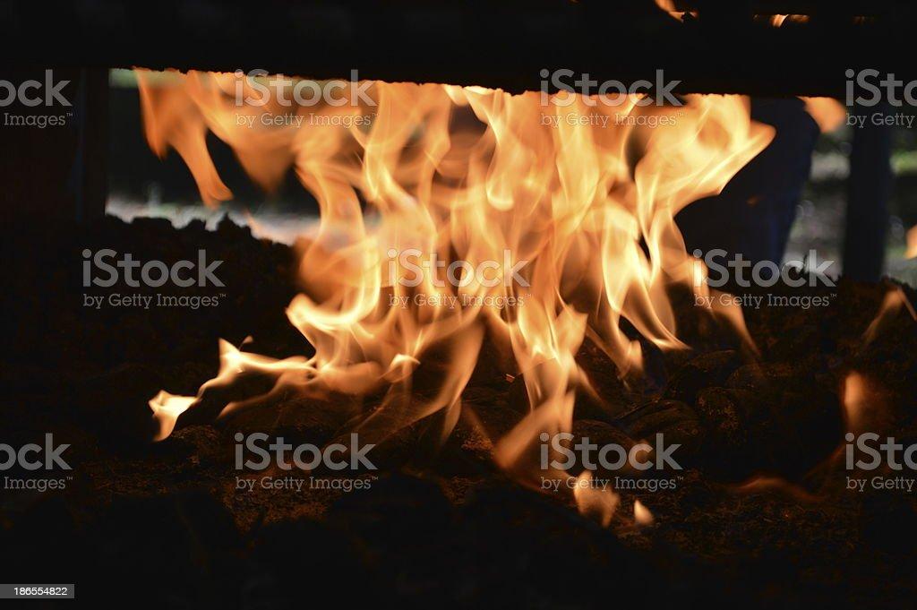 Nuke Fire stock photo