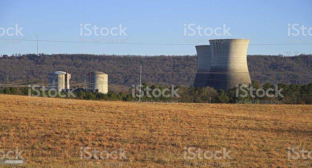 Nuke Plant stock photo