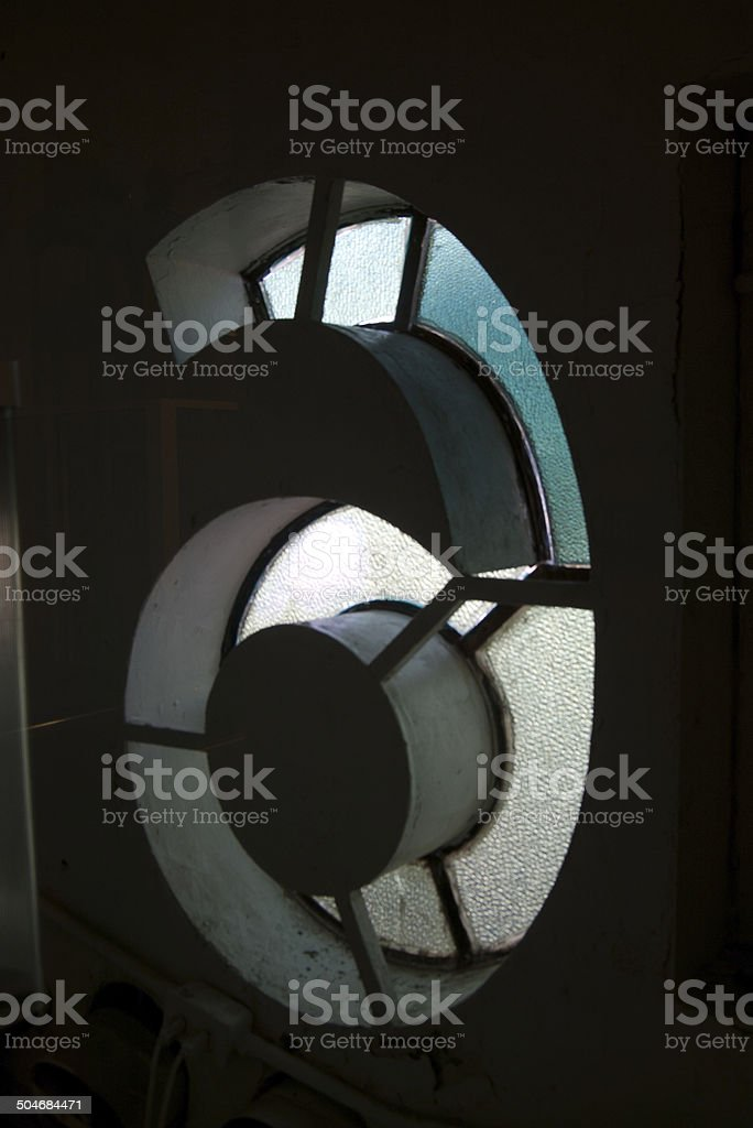 Number 6 from the inside stock photo