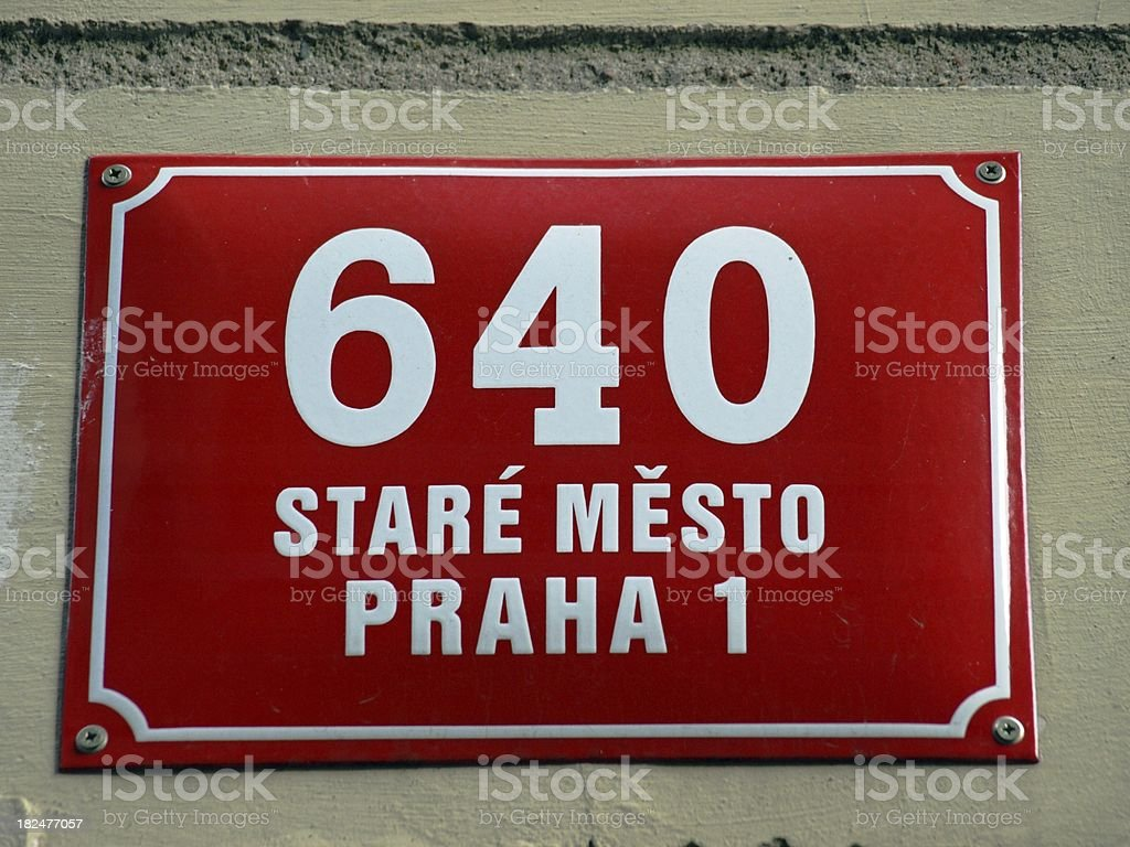 Number 640 royalty-free stock photo