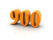 number 900