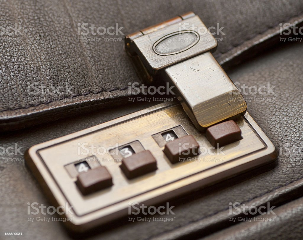 number code lock royalty-free stock photo