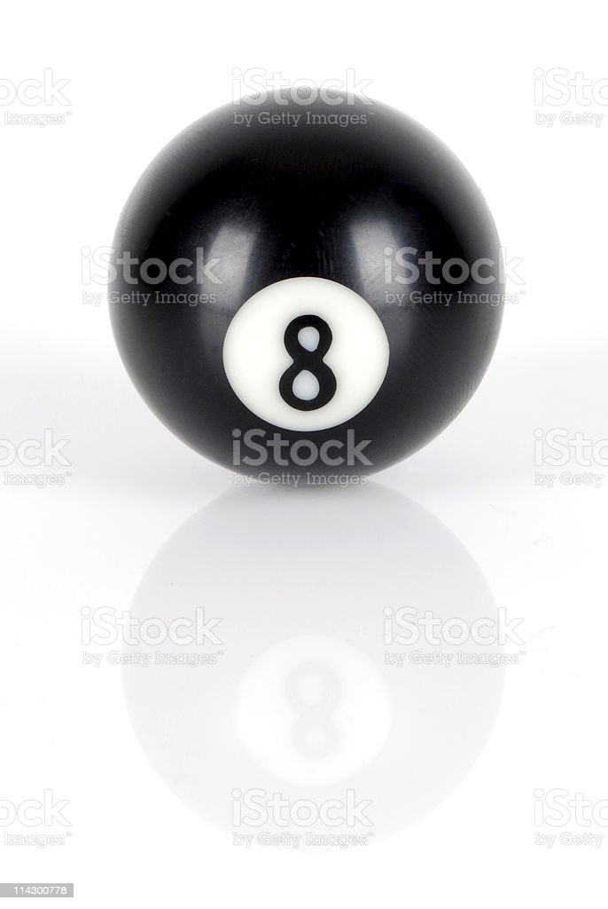 Number eight stock photo