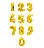 number from balloons