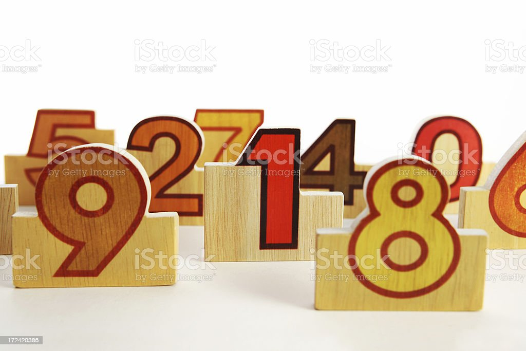 number in the crowd royalty-free stock photo