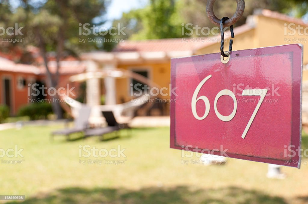 number of apartments royalty-free stock photo