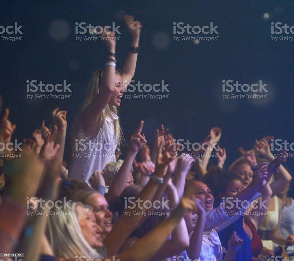 Number one fan stock photo