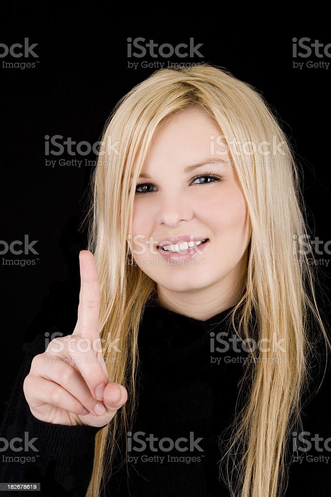 Number One ! royalty-free stock photo
