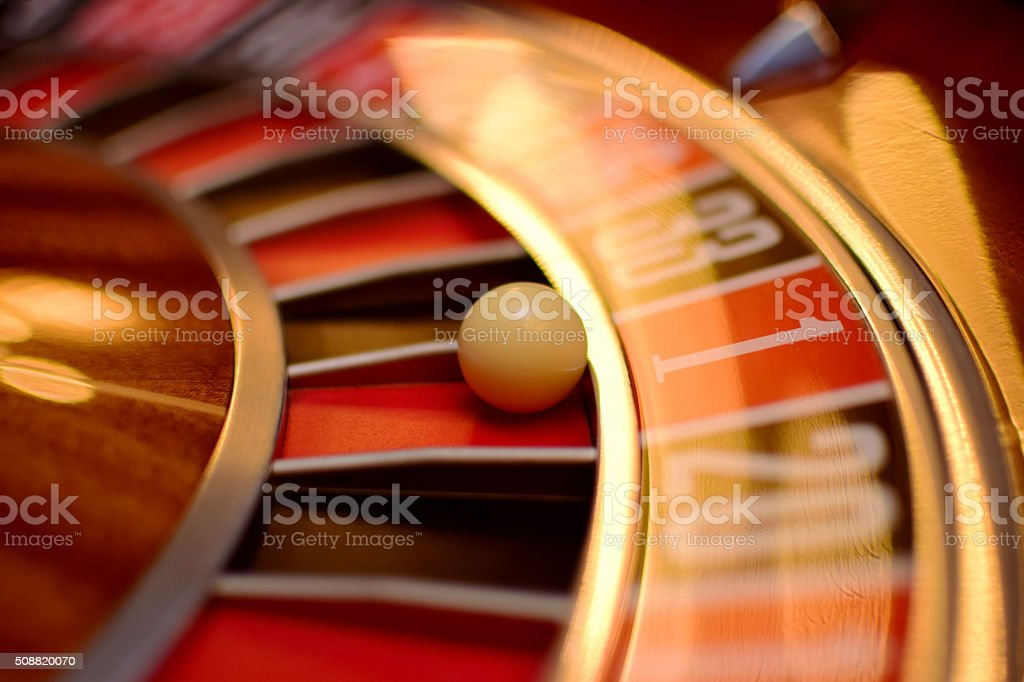 number one roulette stock photo