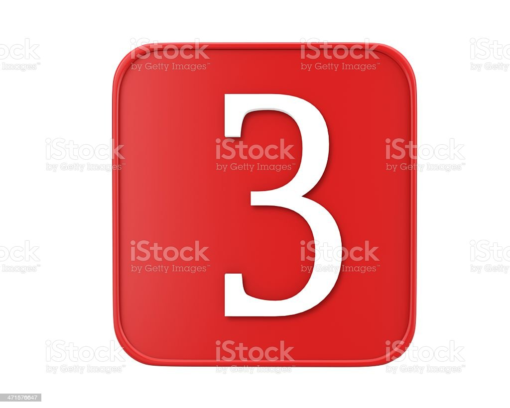 number royalty-free stock photo