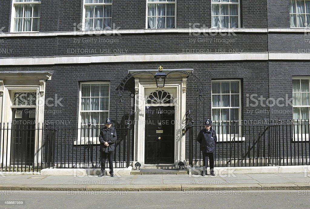 Number Ten Policemen stock photo