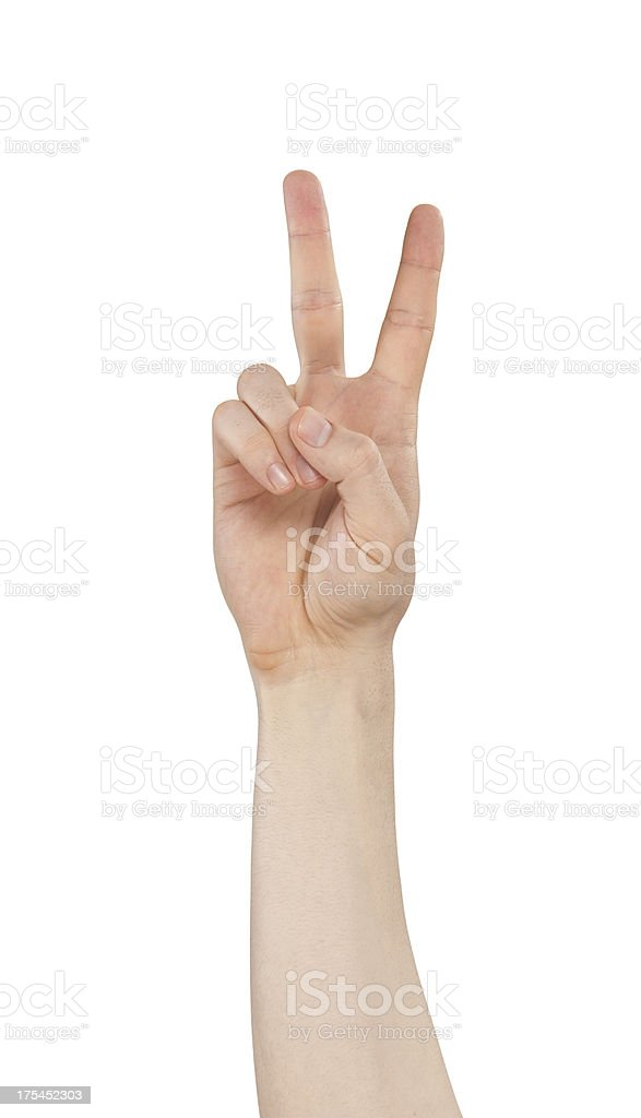 number two stock photo