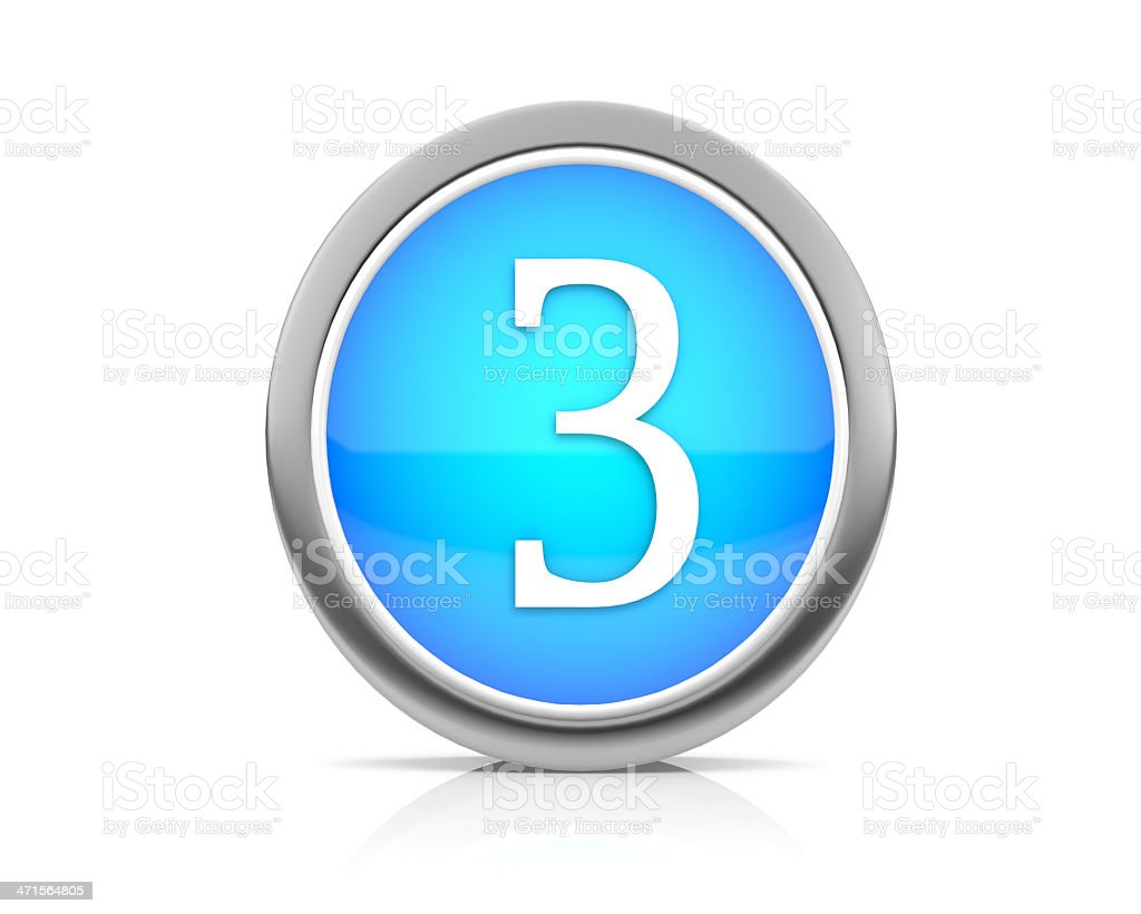 number2 royalty-free stock photo