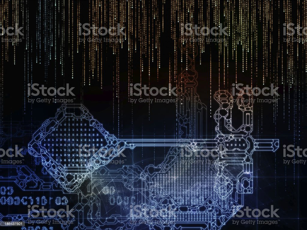Numeric Key Code royalty-free stock photo