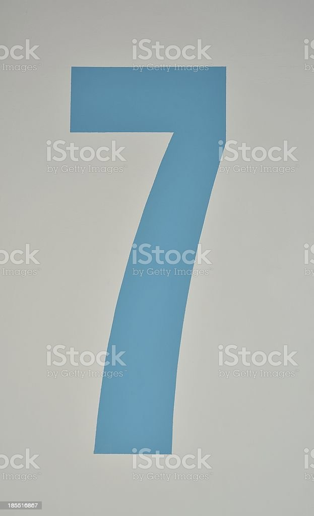 Numerical stock photo