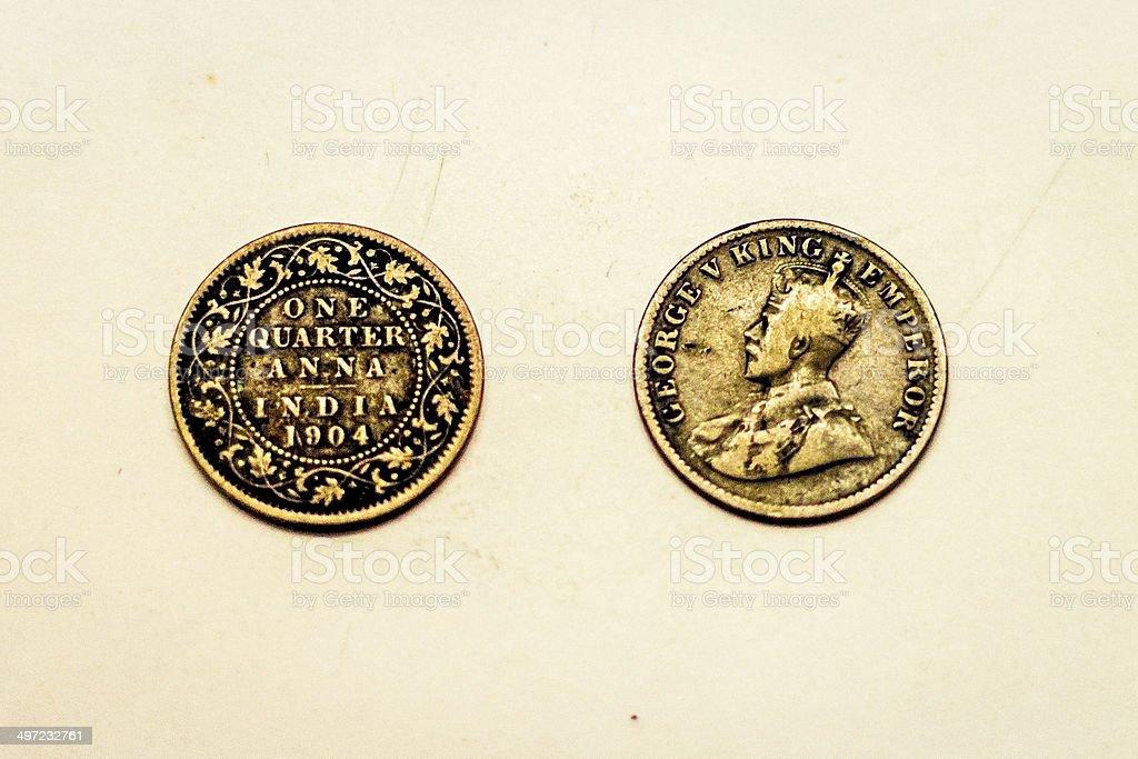 Numismatics. royalty-free stock photo