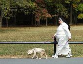 Nun and Her Dog