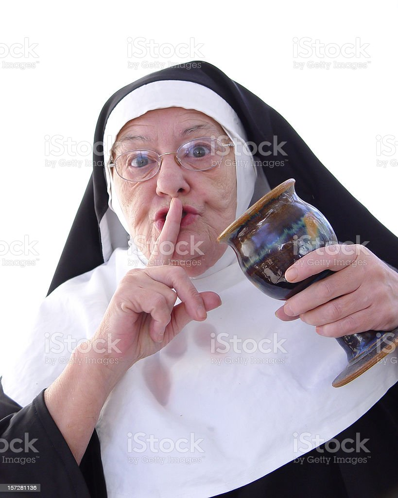 nun series - afterhours royalty-free stock photo