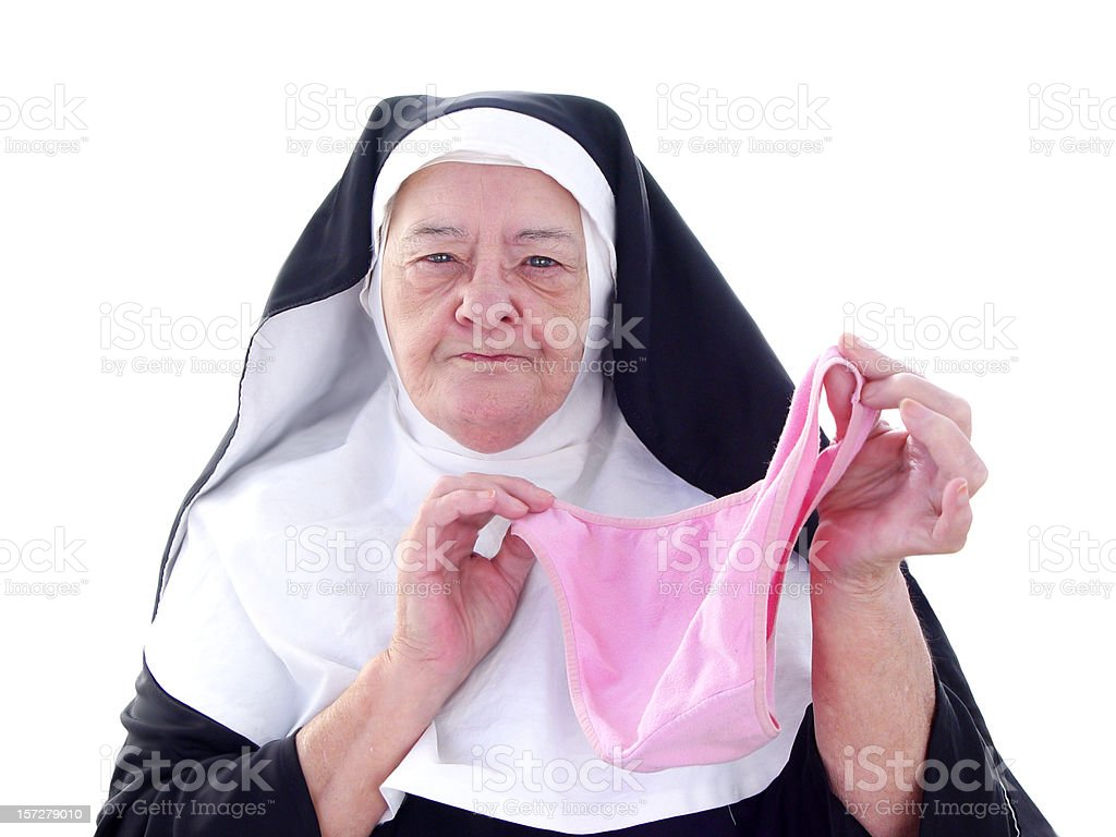 Nun Series - and just what are these? royalty-free stock photo