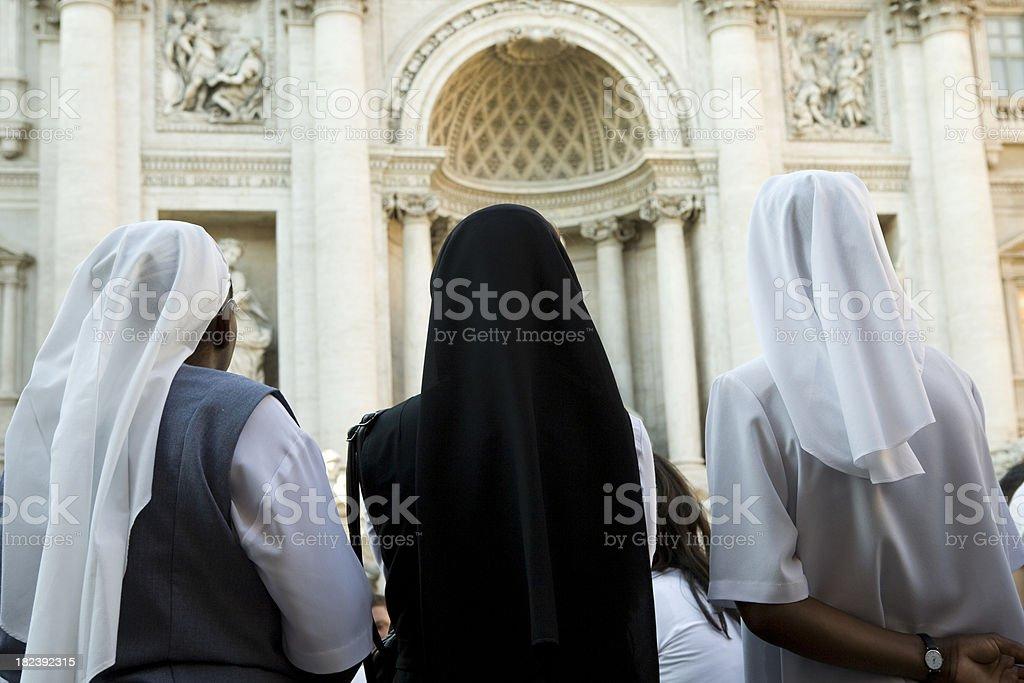 Nuns royalty-free stock photo