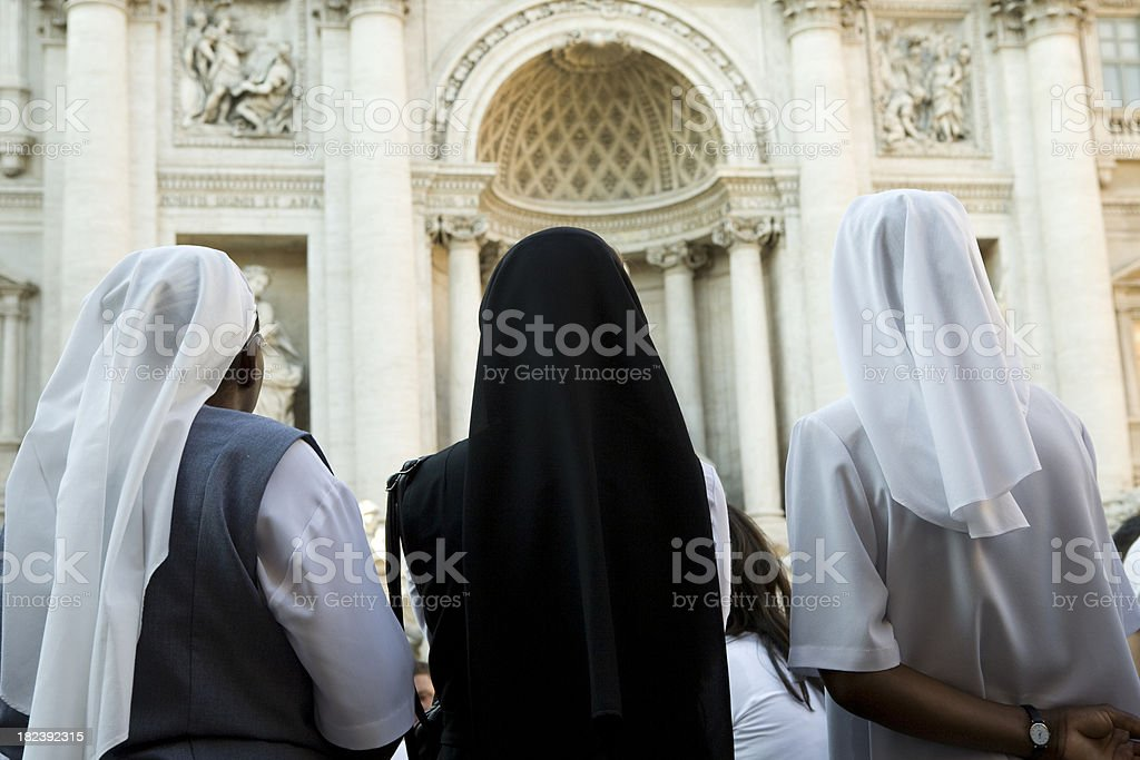 Nuns stock photo