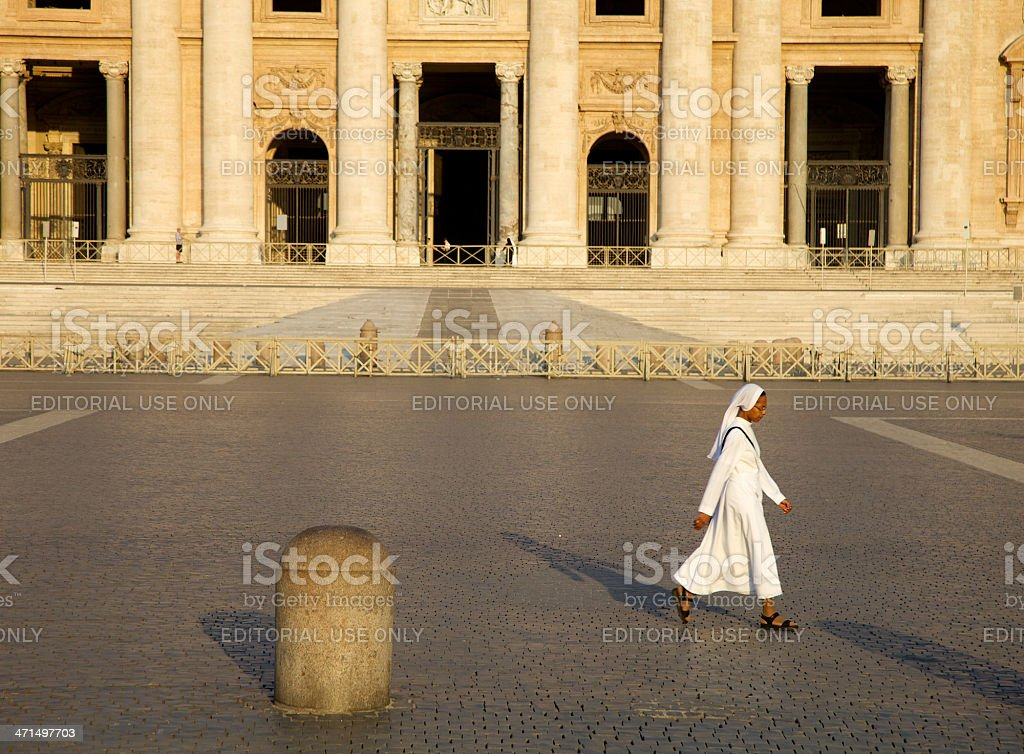 Nuns royalty-free stock photo