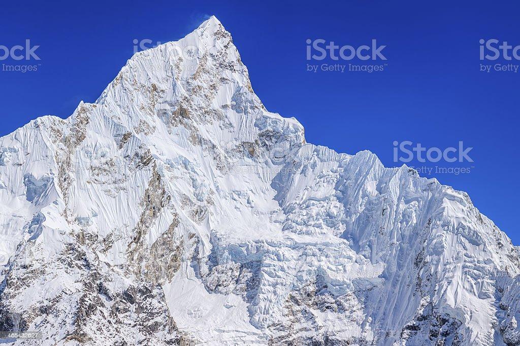 Nuptse peak from Kala Patthar, Mount Everest National Park 39MPix royalty-free stock photo