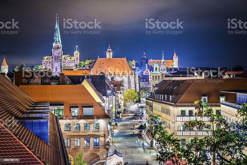 Nuremberg, Germany stock photo