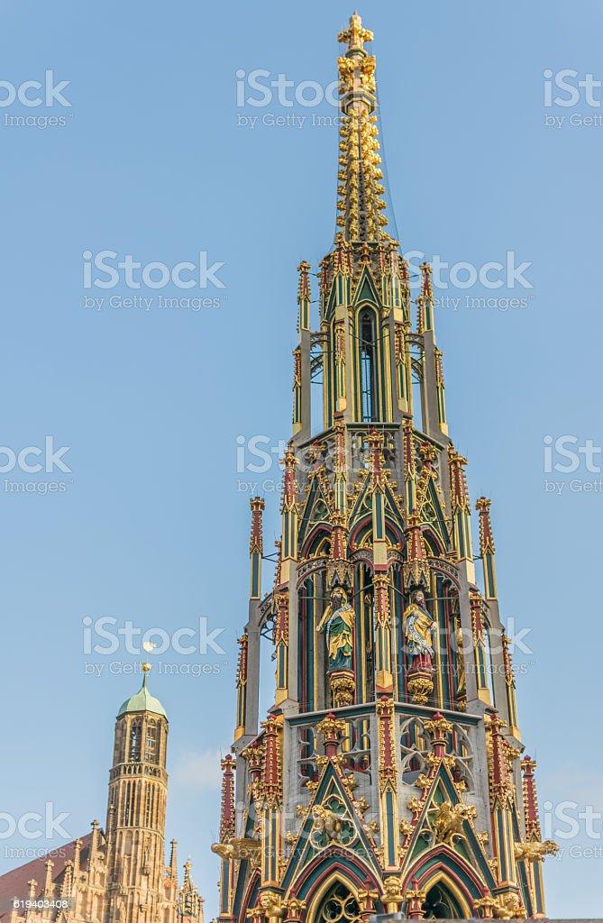 Nuremberg Landmarks stock photo