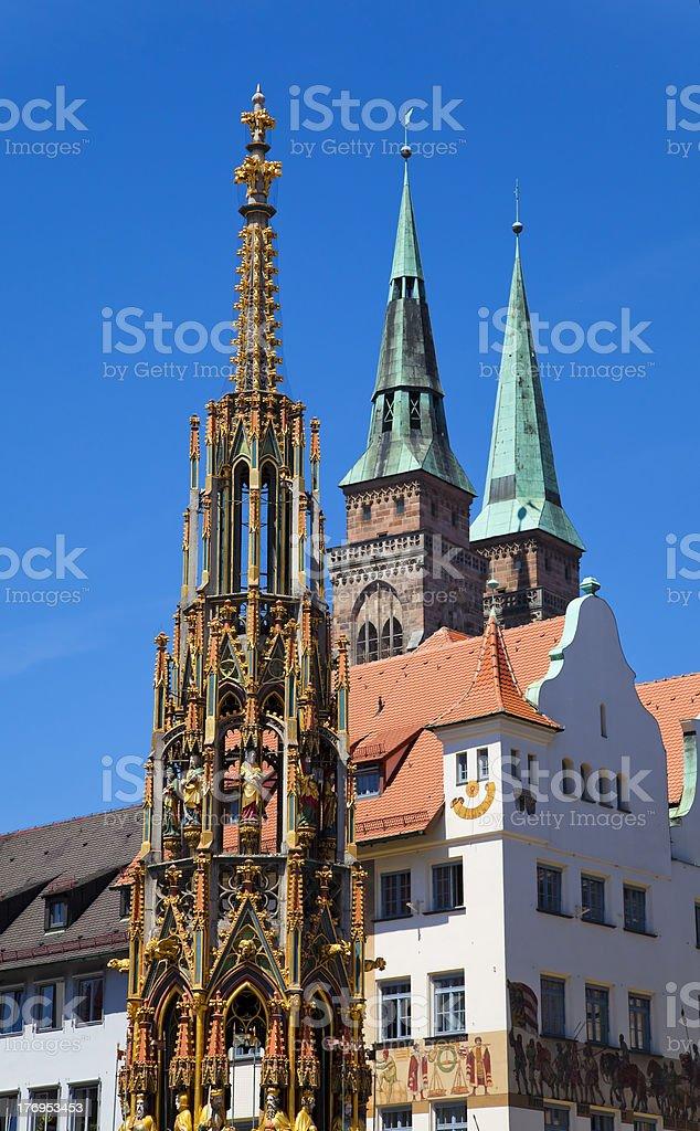 Nuremberg Landmarks XXL royalty-free stock photo