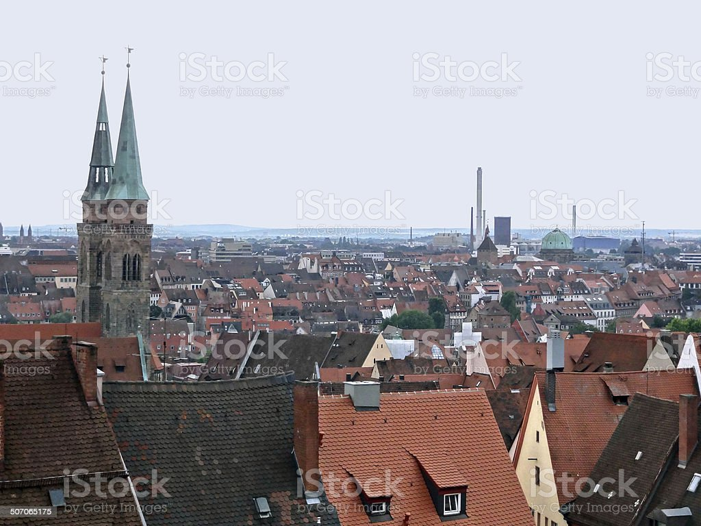 Nuremberg royalty-free stock photo