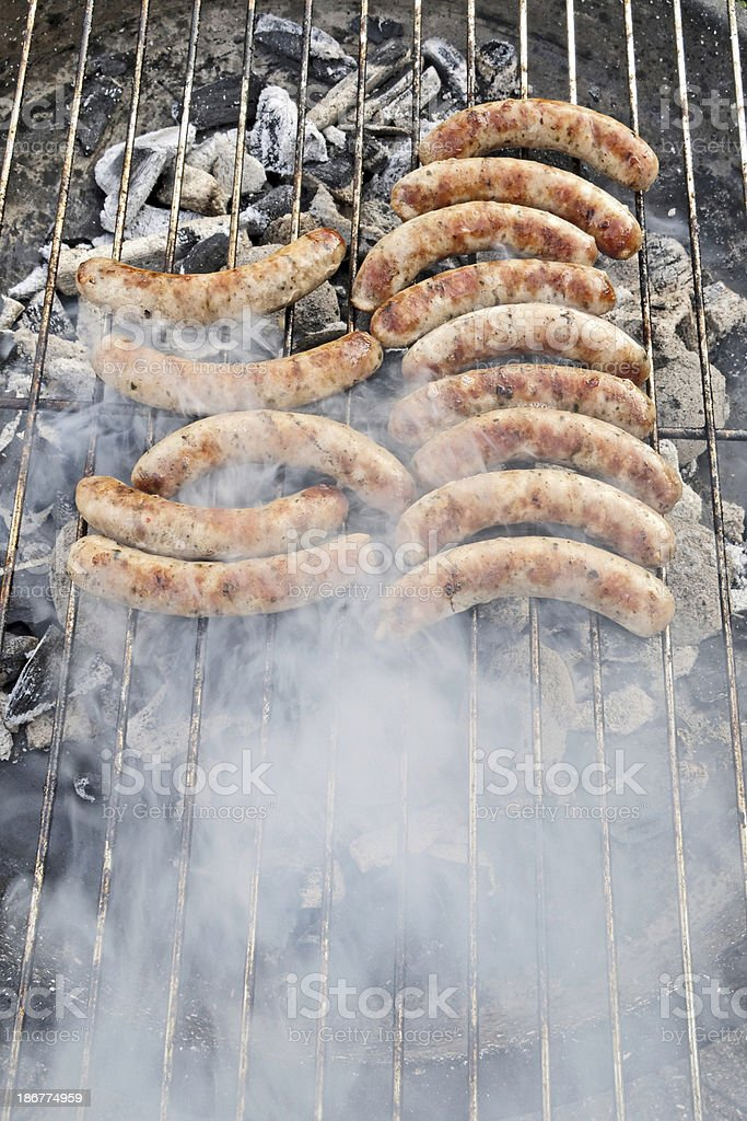 nuremberg sausages stock photo