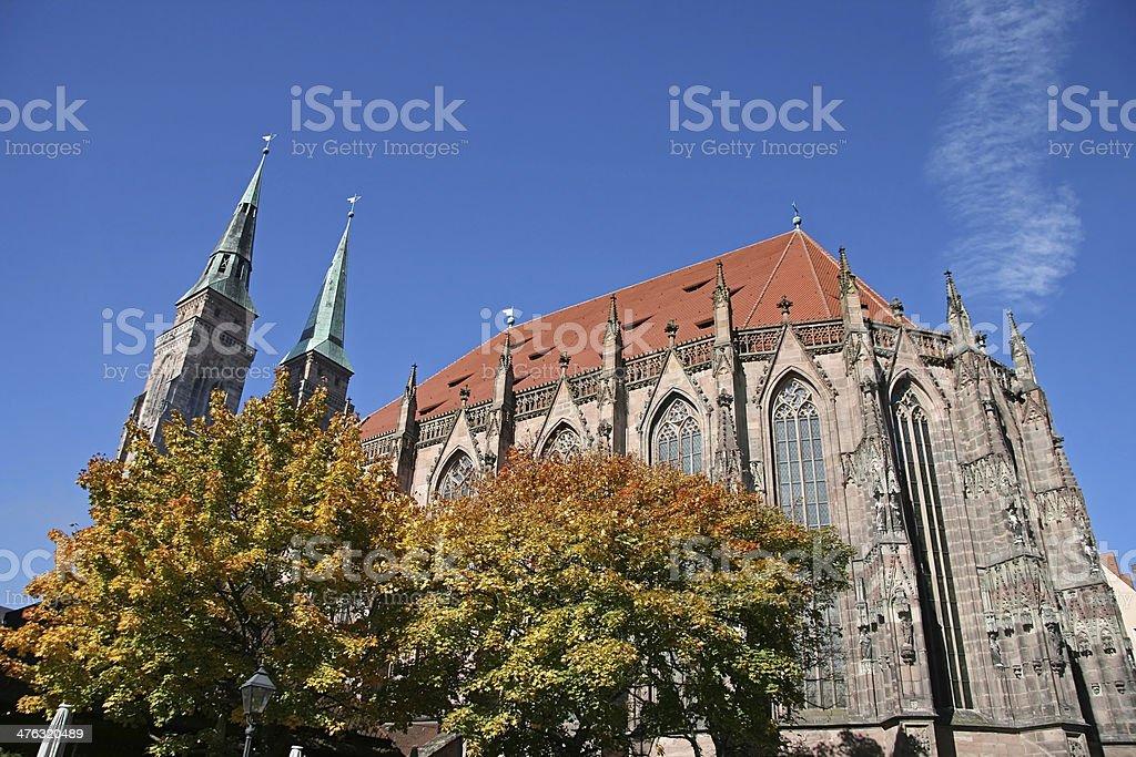 nuremberg Sebaldus church stock photo