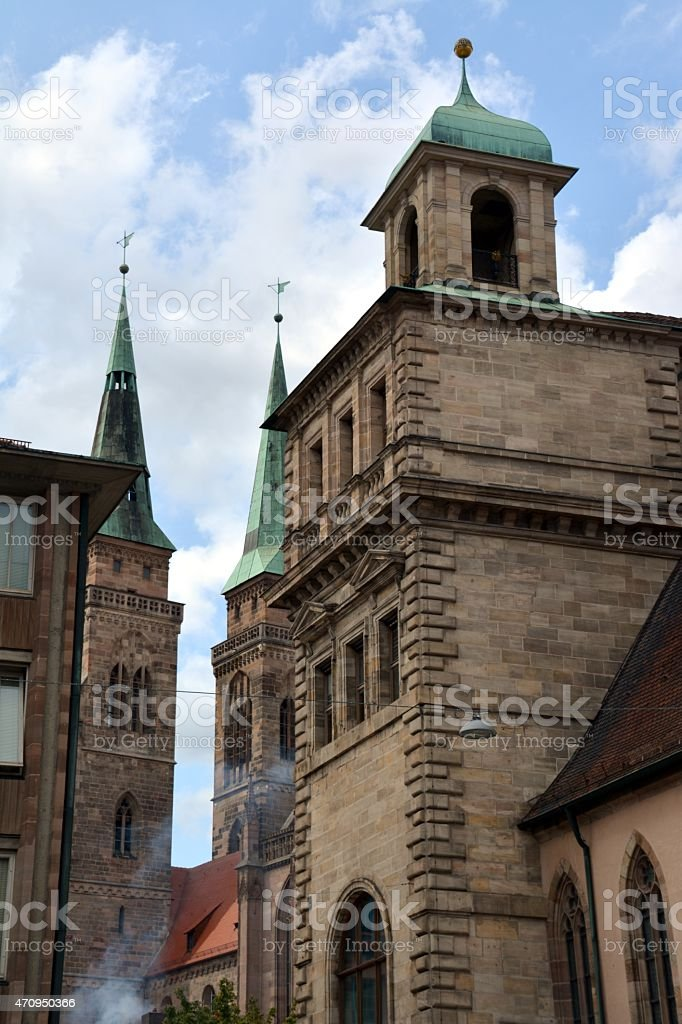 Nurnberg Altstadt, Germany stock photo