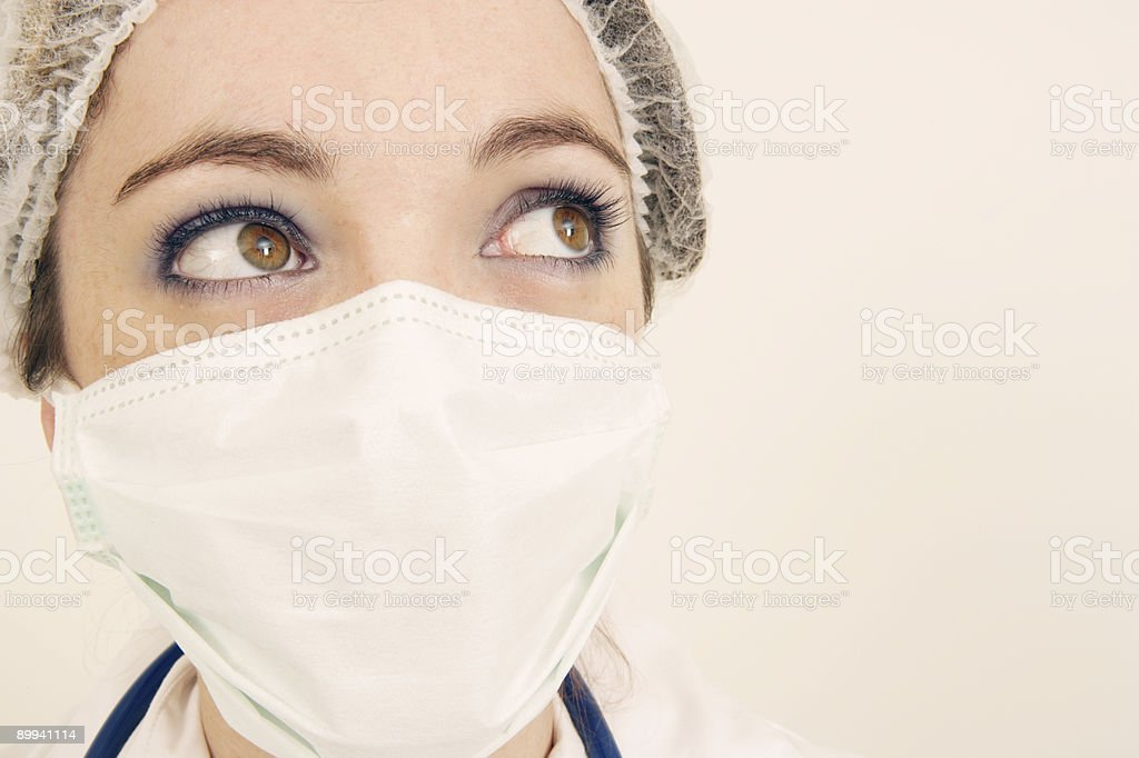 Nurse Face royalty-free stock photo